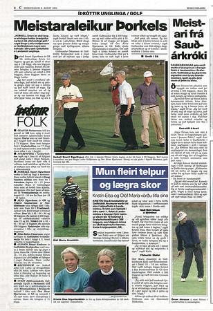 Íslandsmót unglinga 1994