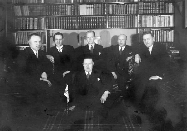Stjórn GÍ 1936