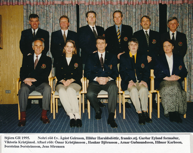 Stjórn GR 1995