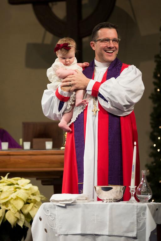 Sage Lawrence's Baptism