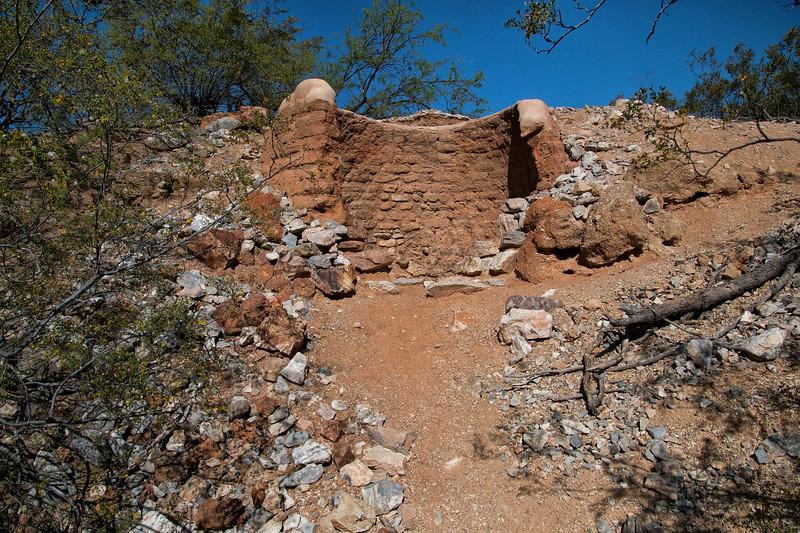 Lime Kilns, Saguaro National Park East, Tucson, Arizona