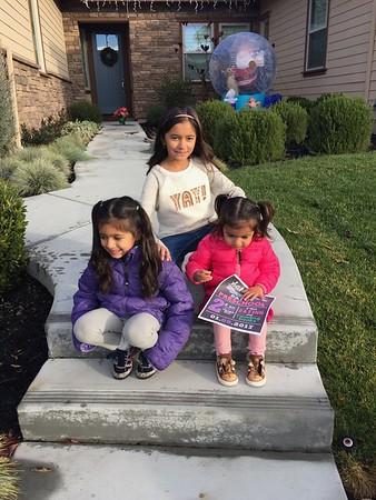 Sahana First Day of School 2017