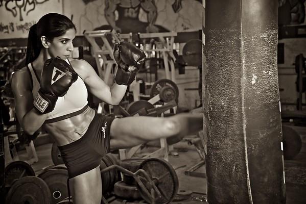 Sahar Dallas Fitness Physique Portraits