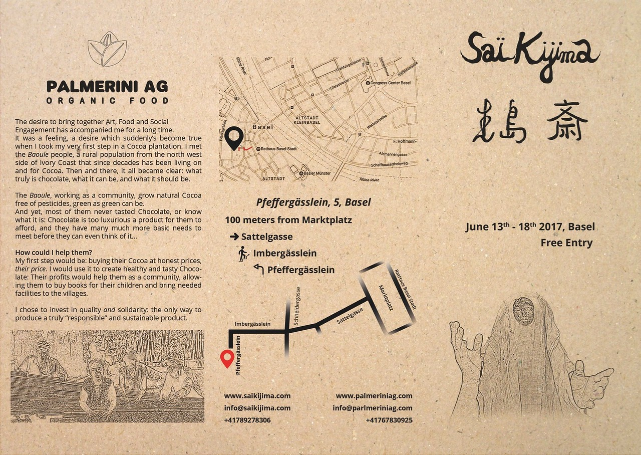 Sai Kijima Exposition in Basel June 2017 - Fasnacht Keller