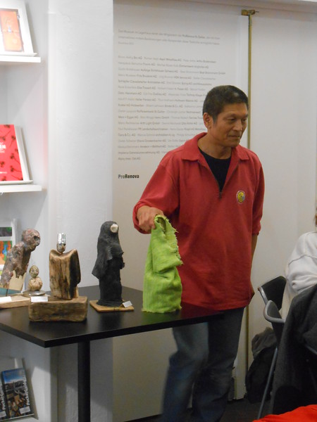 Sai introduces you his dolls - St. Gallen KunstMuseum 2014