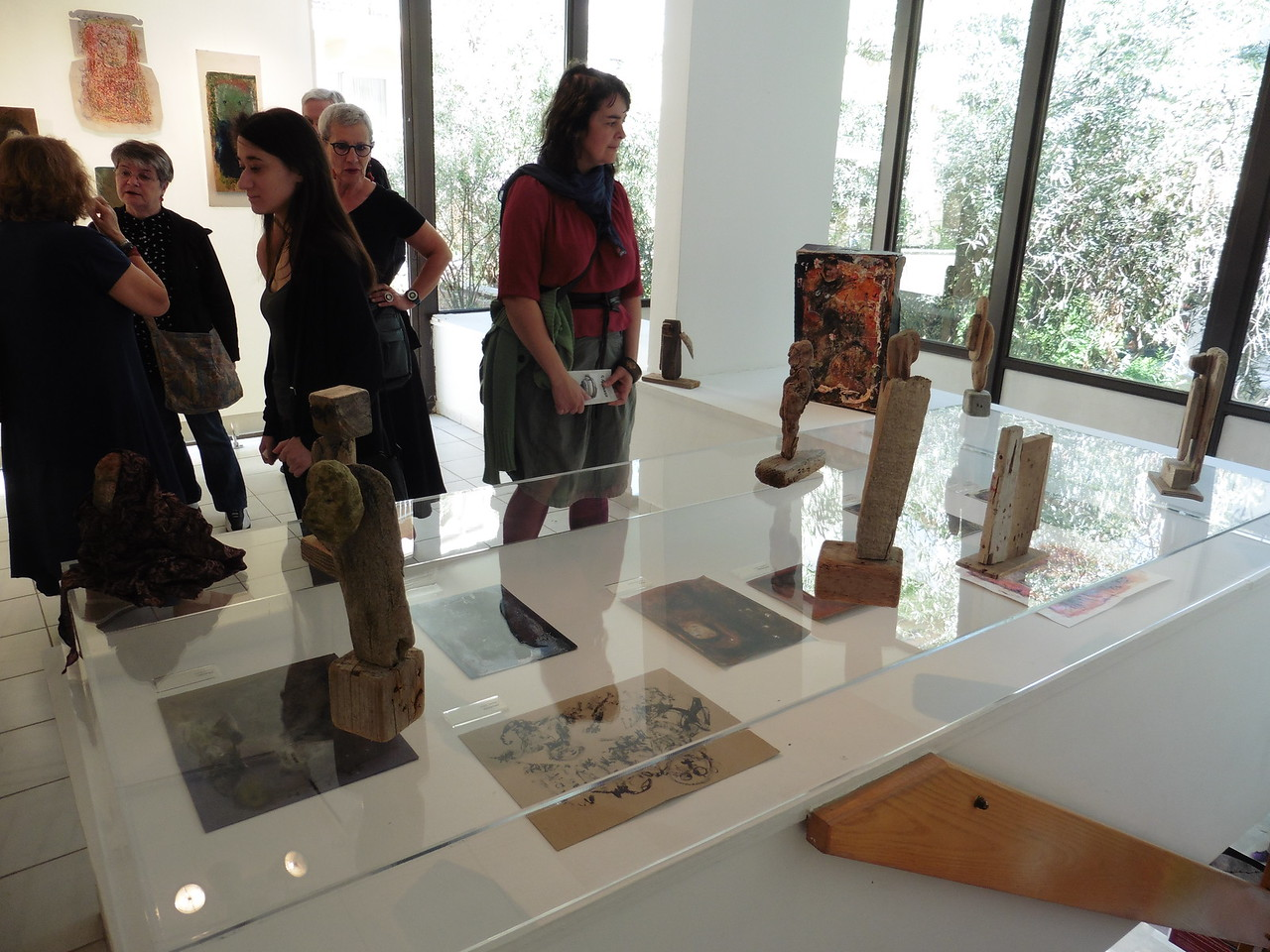 Exposition in the Gounaropulos Museum - Athens - Spring 2017