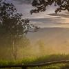 พระอาทิตย์ตกที่ ผาพ่อเมือง อุทยานแห่งชาติไทรทอง
