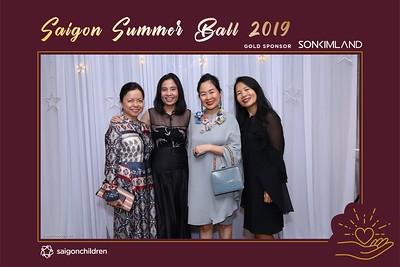 Saigon Summer Ball 2019 sponsored by Son Kim Land @ Park Hyatt Saigon | instant print photo booth in Ho Chi Minh City | Chụp hình lấy liền Sự kiện | Photobooth Saigon