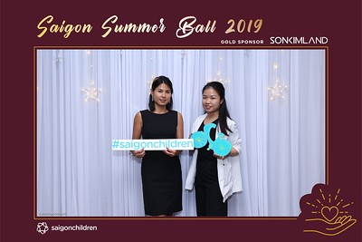 Saigon Summer Ball 2019 sponsored by Son Kim Land @ Park Hyatt Saigon | instant print photo booth in Ho Chi Minh City | Chụp hình lấy liền Sự kiện | Photobooth Saigon