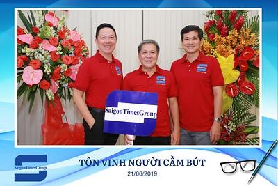 Saigon Times Vietnam Press Day instant print photo booth - Chụp hình in ảnh lấy liền Ngày Nhà báo Việt Nam