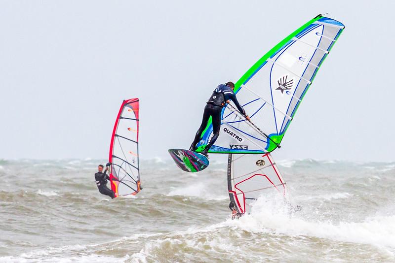 Sail-boarding - Scheveningen