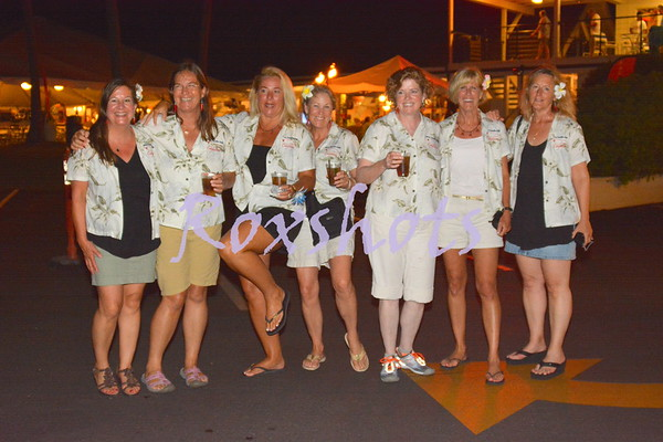 Aloha Cayenne to KYC, Tues. night 7/22/14 with the welcoming wives and many friends...