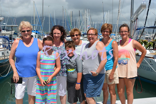 Aloha Kaos to the KYC, Wed. 7/23/14 with family and friends