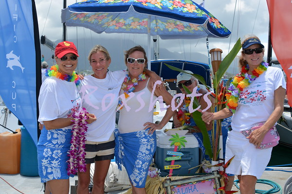 Aloha Tiburon to the KYC on Wed. 7/23/14 with Stephanie Cannell, the Cayenne team and many friends