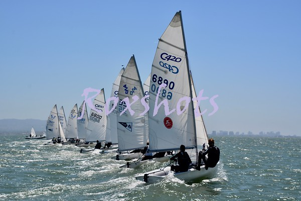 Day #2, Bemis/Smyth U.S. Sailing Area G Championship/Qualifier at RYC, Sun. 6/30/19