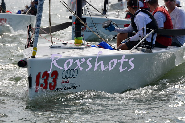 Melges 20 PCC's, SFYC, day 2 Sun. 9/28/14 and awards