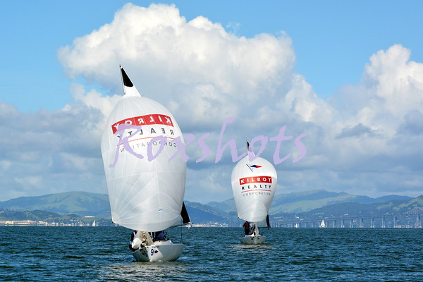SF Cup between SFYC and StFYC, match racing with 3 teams, IOD's, women's and Jr. boys on J22's and the awards on Sun. 3/26