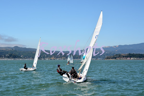 SFYC Bays #4 Youth Regatta, Sat. 8/12/17 on the Richardson Bay course