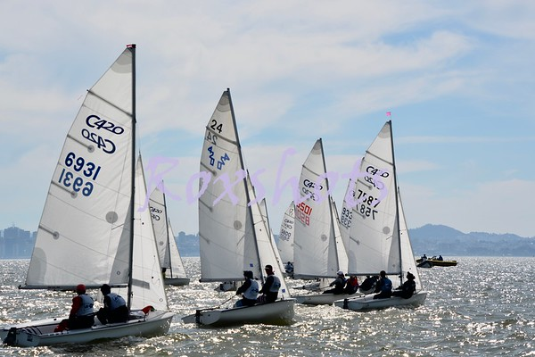 SFYC Bays Winter #4 youth regatta, Sun. 3/17/19 on the Berkeley Circle