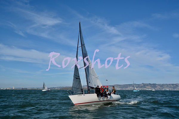 SFYC Express 27 Nationals, Day #2 Sat. 10/6/18 and Fleet Week Blue Angel Show on the city front