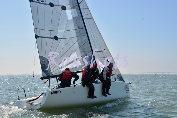 SFYC Melges 24 Nationals, Day #1, Fri. 9/7/18