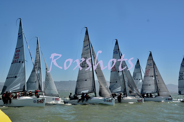 SFYC, Melges 24 Nationals, Day #2, Sat. 9/8/18