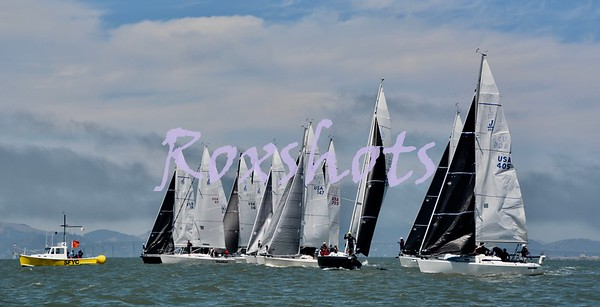 SFYC Summer Keelboat Invitational, day #2 Sun. 8/5/18