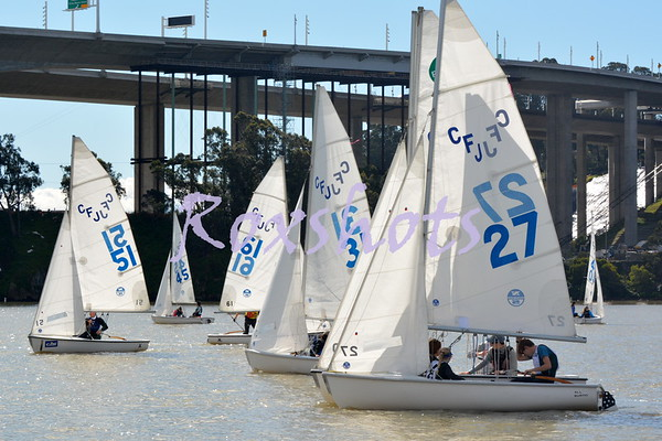 PCISA Golden Bear Regatta at Treasure Island, Sat. 2/25/17 with SYC