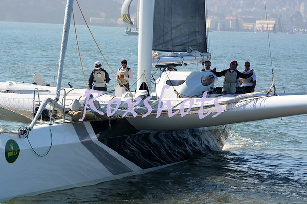 Rolex Big Boat Series 2014 from Miss Kayla the Alcatraz Course Committee Boat