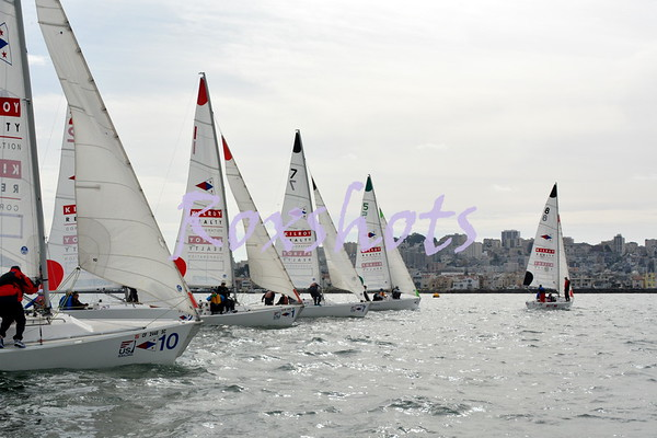 US Adult Sailing Championship, day #2, Thurs. 10/13/14, StFYC