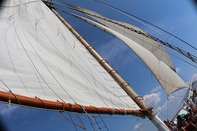 On the waves under sail!