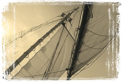 Love story of masts and sails