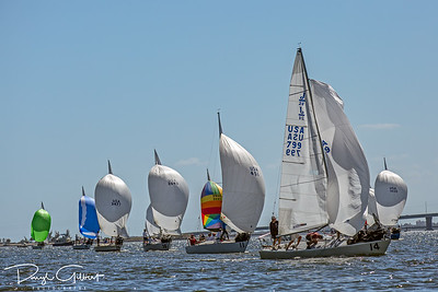 Second Leg of Saturday's First Race