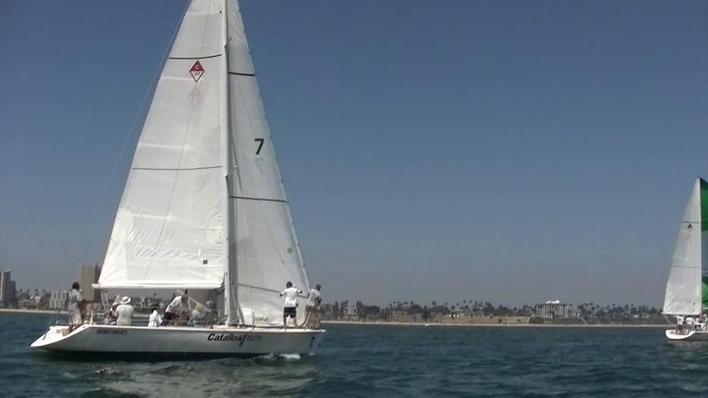 LB Sailing Academy Race