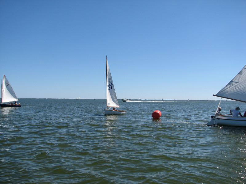 Catboats 2010, Photo by Ken Boyle, SYC, 9.11.10