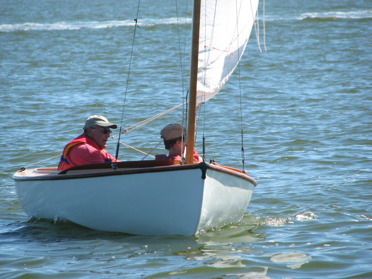 Catboats 2010, Photo by Ken Boyle, SYC, 9.11.10