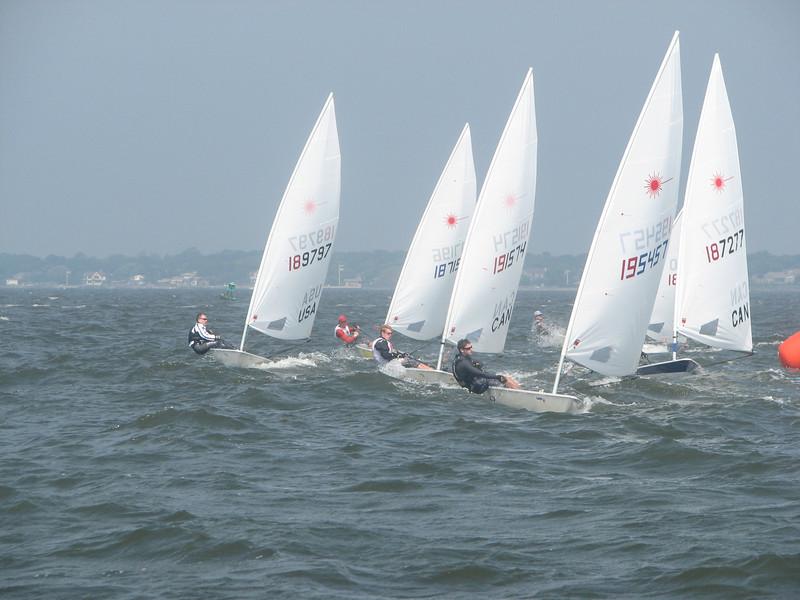 Laser ACC 2010, Photo by Ken Boyle, Sayville Yacht Club, 6/6/10