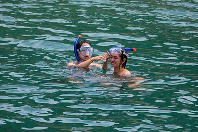 Testing snorkels
