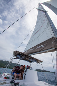 Heading to Cocos with full sails.