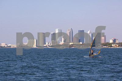 Pan Am Qualifiers for J24's Feb. '07- Windsurfer & Tampa Skyline