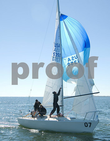 Pan Am Qualifiers for J24's Feb. '07, Bow #7, Sail #5350, Boat name-