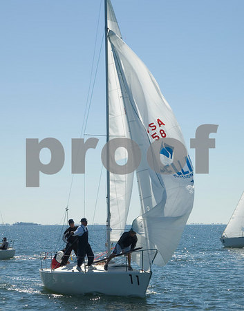 Pan Am Qualifiers for J24's Feb. '07, Bow #11, Sail #58, Boat name-