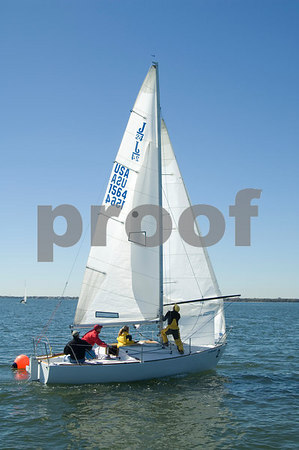 Pan Am Qualifiers for J24's Feb. '07, Bow #2, Sail #1564, Boat name-