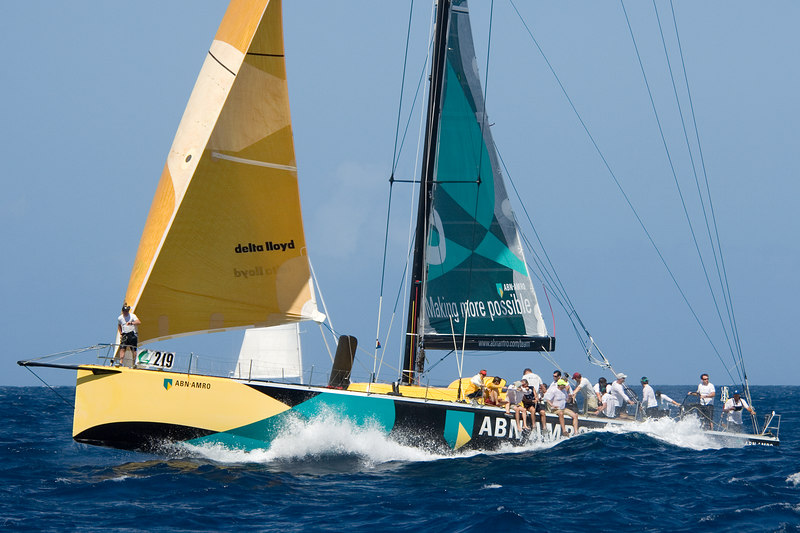 ABN AMRO during the pre-start!