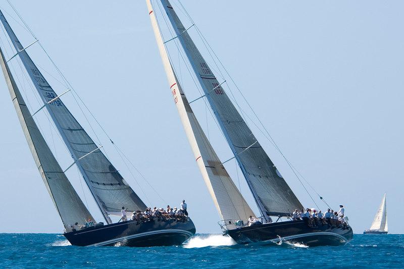 Blue Pearl (Swan 70), Chippewa (Swan 68)
