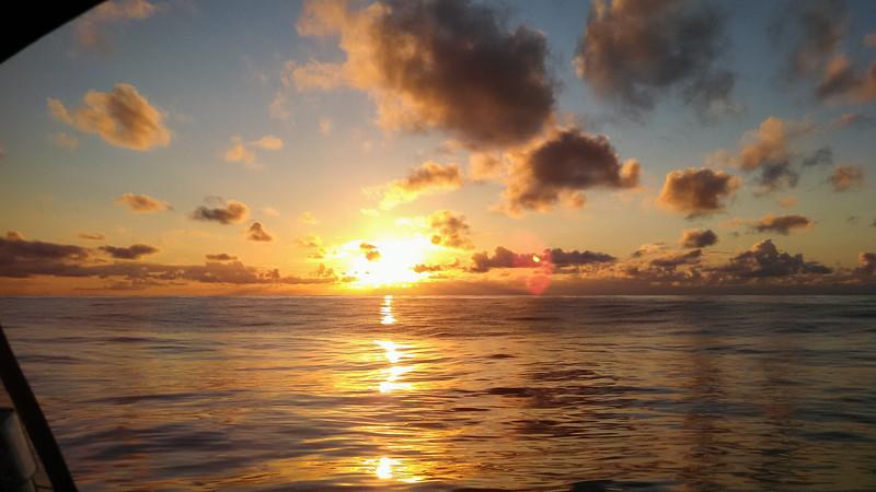 John Harold Koh-Ring Sunset mid Pacific_