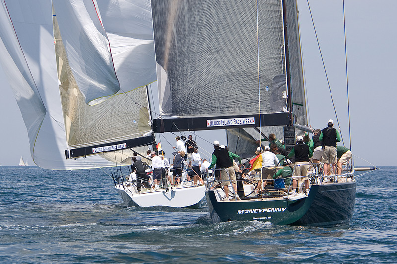 Moneypenny chases Rima2 downwind.
