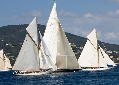 Moonbeam IV; K7 J boat, Valsheda; Mariquita