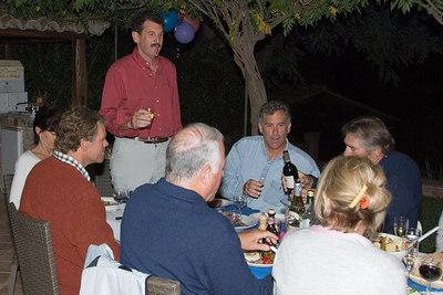 Matt:  Larry, pour some wine into my empty hand...