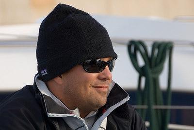 Matt, it's 75 degrees in San Tropez -- is this a new fashion statement??